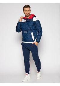 Niebieska kurtka puchowa columbia #6