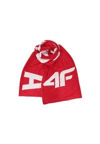 4f - Szalik damski SZD202 - czerwony. Kolor: czerwony