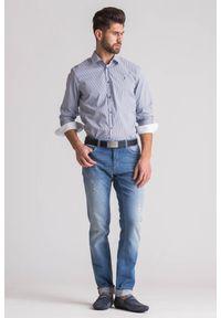 Koszula Trussardi Jeans na co dzień, biznesowa, na lato