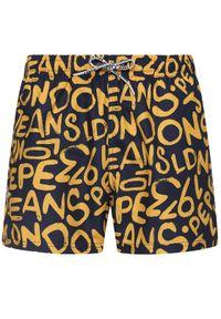 Szorty Pepe Jeans w kolorowe wzory