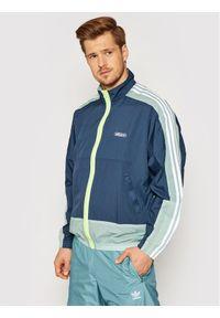 Adidas - adidas Kurtka przejściowa Lightweight GN3832 Granatowy Regular Fit. Kolor: niebieski