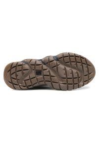 CATerpillar - Sneakersy CATERPILLAR - Vapor Shoe P110192 Black. Okazja: na co dzień. Kolor: czarny. Materiał: skóra, zamsz, materiał. Szerokość cholewki: normalna. Styl: klasyczny, sportowy, casual