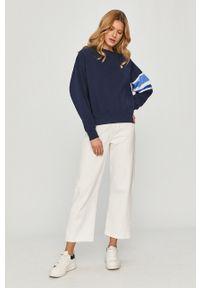 Niebieska bluza Polo Ralph Lauren z długim rękawem, polo