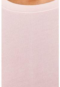 Różowa bluza Marc O'Polo na co dzień, polo, casualowa