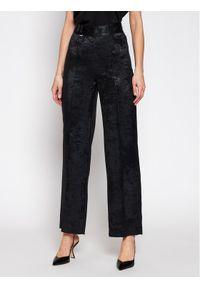 Czarne spodnie materiałowe Rage Age