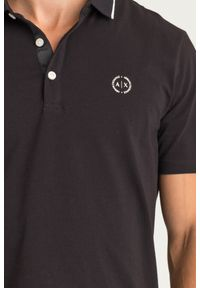 Koszulka polo Armani Exchange w jednolite wzory, polo