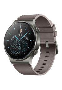 Niebieski zegarek HUAWEI smartwatch, klasyczny