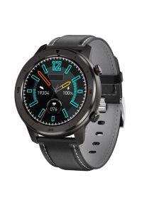 Czarny zegarek GARETT wakacyjny, smartwatch