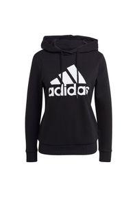 Adidas - Bluza damska adidas Essentials Relaxed Logo Hoodie GM5514. Typ kołnierza: kaptur. Materiał: bawełna, wiskoza, materiał, poliester
