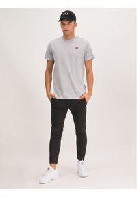 Fila T-Shirt Seamus 682393 Szary Regular Fit. Kolor: szary