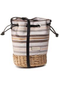 Brązowa torebka worek Gioseppo klasyczna
