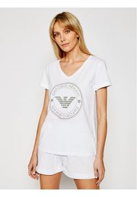 Biała piżama Emporio Armani Underwear