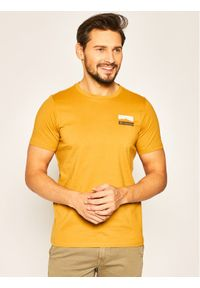 Żółty t-shirt columbia