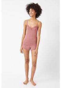 Różowa piżama Etam