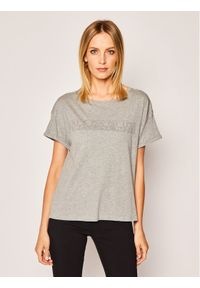 Napapijri T-Shirt Siccari NP0A4E3W1 Szary Regular Fit. Kolor: szary