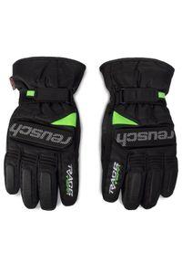 Czarne rękawiczki sportowe Reusch narciarskie #3