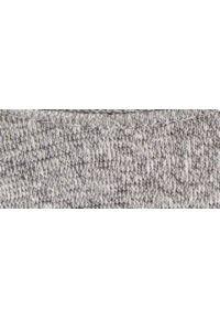 TOP SECRET - Sweter strukturalny. Okazja: na co dzień. Kolor: szary. Materiał: tkanina. Długość rękawa: długi rękaw. Długość: długie. Sezon: wiosna. Styl: casual