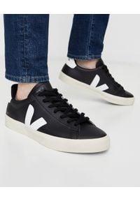 Veja - VEJA - Czarne sneakersy Campo. Okazja: na co dzień. Kolor: czarny. Materiał: guma