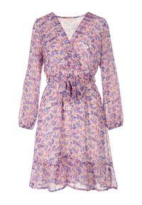Fioletowa sukienka Born2be