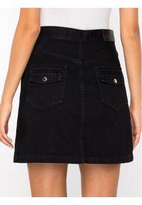 Czarna spódnica jeansowa The Kooples