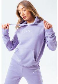 Hype - Bluza SIGNATURE. Okazja: na co dzień. Kolor: fioletowy. Długość rękawa: długi rękaw. Długość: długie. Styl: casual