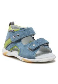 Niebieskie sandały Bartek