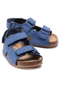 Niebieskie sandały Sergio Bardi Young klasyczne, na lato