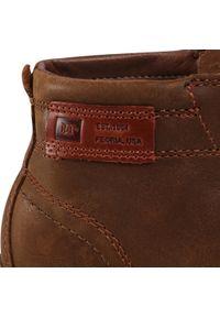 CATerpillar - Trzewiki CATERPILLAR - Jackson Mid P724712 Bronze Brown. Okazja: na co dzień. Kolor: brązowy. Materiał: skóra, nubuk. Styl: casual