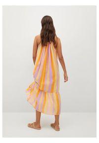 mango - Mango Sukienka letnia Niza 17020191 Kolorowy Regular Fit. Wzór: kolorowy. Sezon: lato