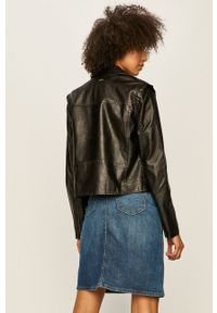 Pepe Jeans - Ramoneska Pina. Okazja: na co dzień. Kolor: czarny. Styl: casual