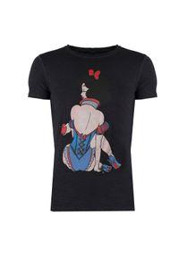 Xagon Man T-Shirt. Okazja: na co dzień. Materiał: bawełna. Wzór: nadruk. Styl: casual