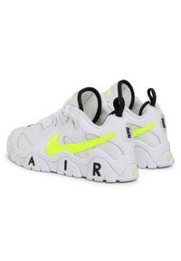 Białe półbuty Nike na co dzień, z cholewką, eleganckie