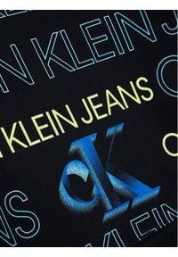 Calvin Klein Jeans Bluza Pixelated Aop IB0IB00802 Granatowy Regular Fit. Kolor: niebieski
