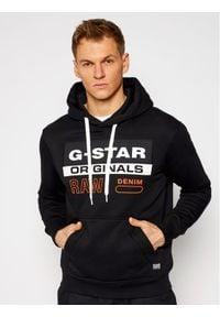 G-Star RAW - G-Star Raw Bluza Ashor D18239-A971-6484 Czarny Regular Fit. Kolor: czarny