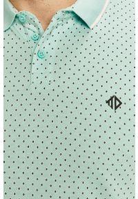 Morska koszulka polo Tom Tailor Denim casualowa, polo
