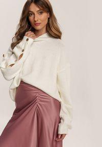 Renee - Różowa Spódnica Dracoth. Kolor: różowy. Materiał: tkanina, guma. Wzór: gładki. Styl: klasyczny
