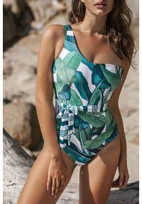 Wielokolorowy strój kąpielowy IVET z aplikacjami