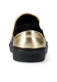 Czarne buty sportowe Arturo Vicci na co dzień, trekkingowe, bez zapięcia