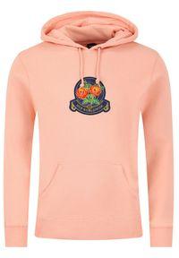 HUF Bluza Tenderloin Rose Crest PF00211 Pomarańczowy Regular Fit. Kolor: pomarańczowy