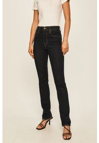 Niebieskie proste jeansy Levi's® biznesowe, na spotkanie biznesowe