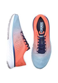 Pomarańczowe buty do biegania Hoka One One z cholewką