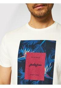 Biały t-shirt Jack & Jones z nadrukiem