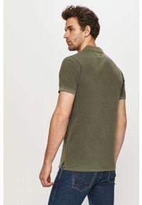 Zielona koszulka polo Jack & Jones casualowa, krótka, polo #5