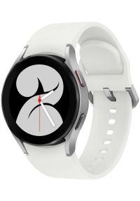 SAMSUNG - Samsung smartwatch Galaxy Watch4 40mm Silver. Rodzaj zegarka: smartwatch. Kolor: srebrny. Styl: militarny