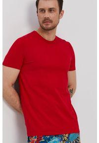 medicine - Medicine - T-shirt Basic. Kolor: czerwony. Materiał: dzianina. Wzór: gładki