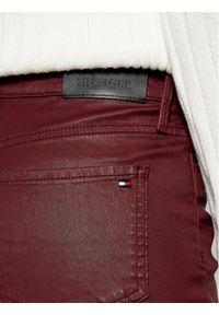 Czerwone jeansy slim TOMMY HILFIGER