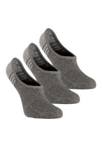 NEWFEEL - Skarpetki do chodzenia/nordic walking WS 100 Invisible (3 pary). Materiał: bawełna, poliamid, elastan. Sport: turystyka piesza