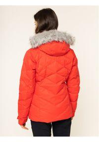 Czerwona kurtka sportowa columbia narciarska
