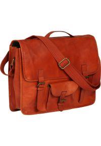 Brązowa torba na laptopa vidaXL