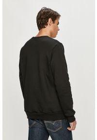 Czarna bluza nierozpinana Prosto. casualowa, bez kaptura